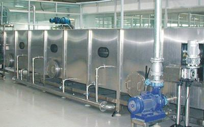 Tunnel Spray Sterilizer and Cooler