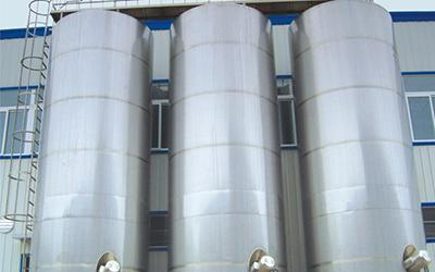 Outdoor Milk Storage Tank